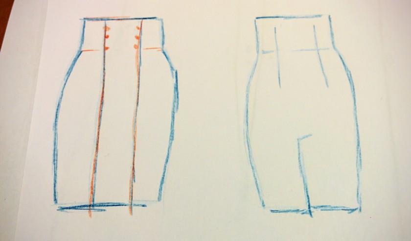 diseño falda lápiz talle alto.jpg