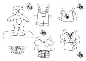 dibujo-colorear-bear2-doll