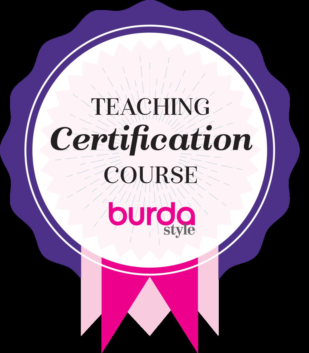Profesora Burda certificada – dibujando patrones
