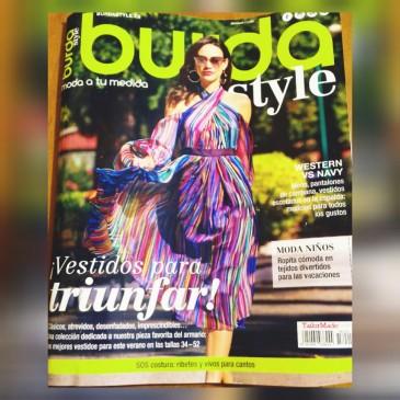 Portada Burda Mayo 2018