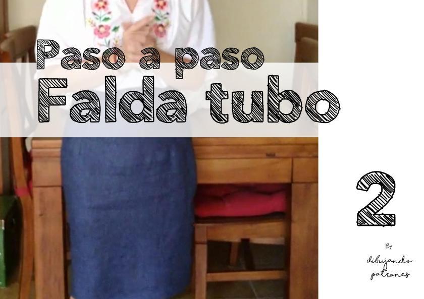 Falda Tubo Paso a Paso